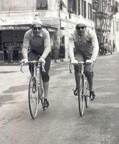 Stefano Gaggero e Fausto Coppi