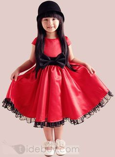 Best Quality Princess Style A-line Girl Party Dress : Tidebuy.com