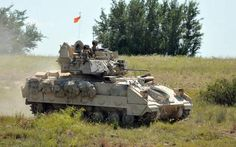 A crew with 3rd Battalion, 8th Cavalry Regiment, 3rd Brigade Combat Team, 1st Cavalry Division, maneuvers a M2A3 Bradley Fighting Vehicle during a training exercise July 13, 2014, at Fort Hood, Texas. The 3-8th Cavalry Regt. will conduct a nine-month rotational deployment to South Korea as part of U.S. enduring re-balancing efforts in the Asia-Pacific region. The unit will replace 1st Battalion, 12th Cavalry Regiment, which is currently deployed to South Korea. Bradley Ifv, Bradley Fighting Vehicle, Army Times, Zombie Apocalypse Survival, Im A Survivor, Fort Hood, Us Vets, Real Hero, God Bless America