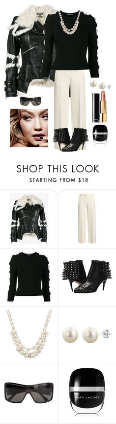"""""""Trendy Street Fashion"""" by kotnourka ❤ liked on Polyvore featuring Alexander McQueen, Anne Klein, Tom Ford, Louis Vuitton, Marc Jacobs and Chanel"""