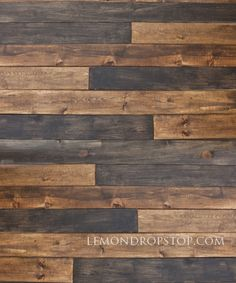 LemonDrop Stop Two Tone Wood | Vinyl Photography Backdrops | LemonDrop Stop Photography Backdrops and FloorDrops