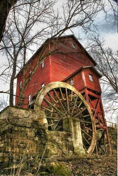 Old Crist Mill!