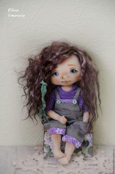 Купить Аврора - сиреневый, коллекционная кукла, интерьерная кукла, коллекционные игрушки, интерьерная игрушка ☆