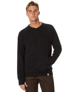 Guys, it's time to get this   Ourcaste Taylor Mens Crew Black http://www.fashion4men.com.au/shop/surfstitch/ourcaste-taylor-mens-crew-black/ #Black, #Crew, #Jumpers, #Men'S, #Ourcaste, #SurfStitch, #Taylor