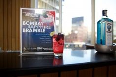 Bombay Sapphire Bramble at Cocktails for a Cause
