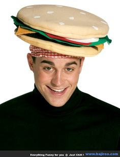 this cheeseburger hat is a great costume idea for anyone looking for a simple easy costume our cheeseburger hat is perfect for any summer bbq or costume