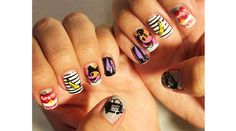 Andy Warhol Themed    The Best Nail Art of the Summer : Lucky Magazine