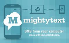 MightyText, envoyer gratuitement des SMS depuis son ordinateur