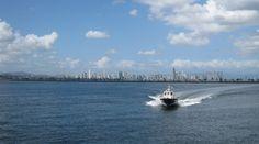 Blick auf Panama City - http://barbaras-reisen.blogspot.de/2009/02/panamakanal.html