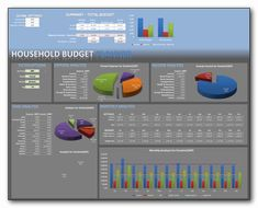 household expense tracker excel