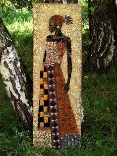African Maiden Mosaic