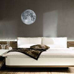 Full Moon Wall Sticker by Oakdene Designs