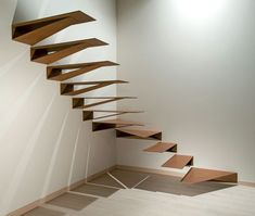 MARRETTI spiral staircase spiral stairs and banisters, staircase design production and selling,Hanging staircases Origami Hanging staircases Origami - Hanging stairs Staircase Metal, Cantilever Stairs, Stairs And Staircase, House Stairs, Stair Railing, Staircase Design, Spiral Staircase, Stair Design, Staircase Ideas
