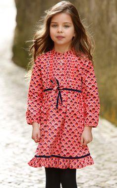 little girls, kid style, fashion, patterns, dresses, renta childrenswear, kids, prints, oscar de