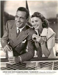 Humphrey Bogart and Ingrid Bergman, Casablanca