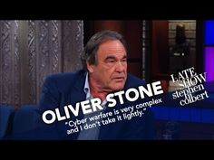 Oliver Stone defended Vladimir Putin to Stephen Colbert. The audience laughed at him. - The Washington Post