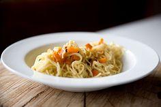 Mrkvové špagety - Testováno na dětech