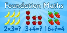 Foundation Maths - great for giving your kids a head start with maths!