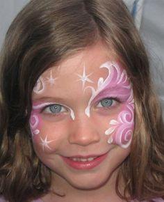 Trucco del viso per Carnevale per bambini da Fata n.1