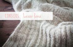 Glosario lavar lana