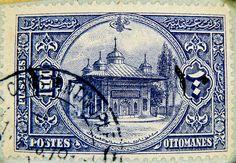 "Vintage Ottoman stamp (Turkey) from ""stampolina"", via Flickr"