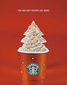 #starbucks #christmas #tree #ads #advertisement #holiday #coffee #marketing
