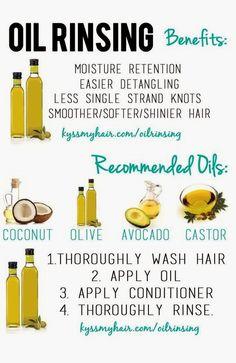 Hair CHALLENGES: Les huiles: Propriétés et synergies pour le Pre poo, Oil rinsing et Scellage des pointes