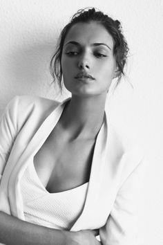 sexy white on white look #style #fashion