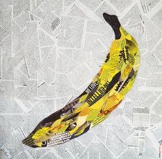 Colagem Andy Warhol by Rafa Gomes