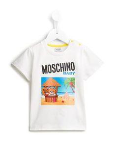 'Beach Hut Teddy' T-shirt