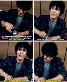 "Bob: Denver Con: On Bellamy #The100. <<<<< ""who's your favorite character"" IMAGINE IF THE FAN HAD SAID LINCOLN OH MY GOODNESS"
