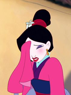 """Fa, Mulan!"" ""Present!"" ""Speaking without permission."" ""Oops."""