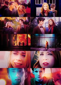 Rose Tyler and Amy Pond. Favorite companions!