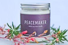 Peacemaker was inspired by all the people who stand and live for peace. The heavy, earthy aroma will create an atmosphere of pure harmony and you