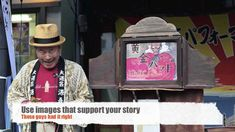 Storytelling: Lessons from kamishibai