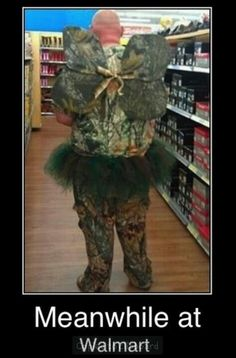 """Meanwhile In Wal-Mart. Attention WalMart Shoppers, get your cell phone cameras ready for the crazy dressers who have just arrived to shop. You can pinterest your pic, or Instagram or tumbler under humor because they wanted you to see it!  Full MooNs, 1/4 moons  they're flashing!! """"People of Walmart"""""""