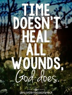 So thankful God healed mine