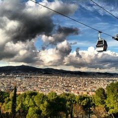 A must-see place, must-do activity: Montjuïc, Barcelona (Spain) #beautifulview