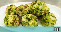 Ficam apenas 15 minutos no forno e são o petisco ideal para comer sozinho ou para servir como acompanhamento.