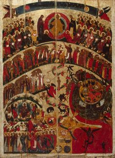 Icon: The Last Judgement  Russia, First half of the 16th century