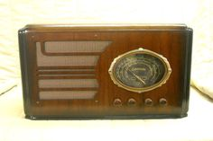 Old Antique Wood Coronado Vintage Tube Radio - Restored & Working Table Top. eBay auction ends tonight at 10:30 eastern!