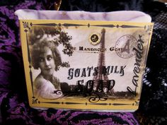 Lavender Goats Milk Soap by TheHandsomeGoatBath on Etsy,