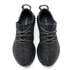 The sneaker is composed of a Black Primeknit upper with red stitched  detailing on the heel tab. The midsole has been blacked out and features  BOOST ... 357fbcc0c5