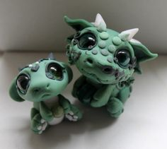 Baby jade dragons
