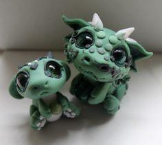 Baby jade dragons