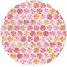 Lori Whitlock, Fancy Free, Pinwheels Pink. Bedroom.