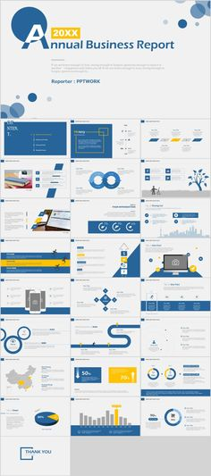 Business infographic : 26 annual business report PowerPoint template on Behance Professional Powerpoint Templates, Creative Powerpoint Templates, Powerpoint Presentation Templates, Corporate Presentation, Presentation Layout, Presentation Slides, Ppt Template Design, Keynote Template, Web Design