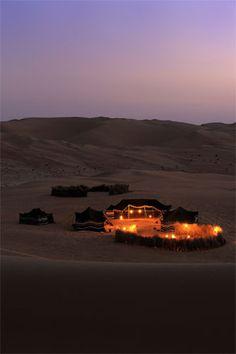 1,001 Arabian Nights in Abu Dhabi - Anantara Qasr Al Sarab desert resort. Someday.