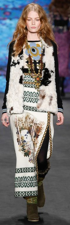 Anna Sui Collections Fall Winter 2015-16 collection