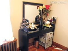 ... for my vanity area. My vanity table is the IKEA MALM Dressing table